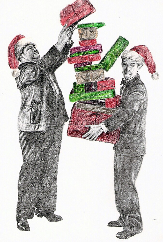 Merry Christmas from 'The Boys' by L K Southward