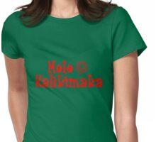 Mele Kalikimaka Womens Fitted T-Shirt