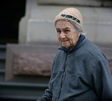 Lady on the Street by James Troi