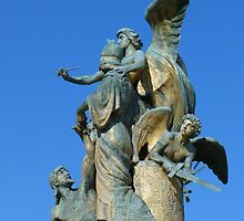 Sculpture, Monumento Nazionale a Vittorio Emanuele II, Rome by Trish Meyer