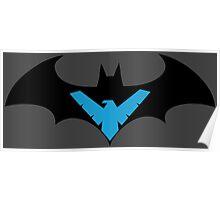 Batman VS Nightwing Poster