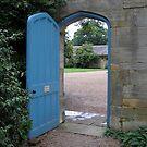 Blue Door by ChelseaBlue