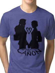 KORRASAMI IS CANON v1 Tri-blend T-Shirt