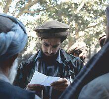 AHMAD SHAH MASSOUD by Benjamin Pendleton