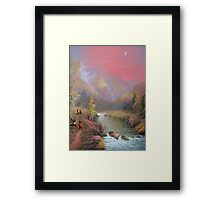 No Time For A Pipe. Framed Print