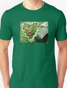 My Love Is Etched in Stone Unisex T-Shirt