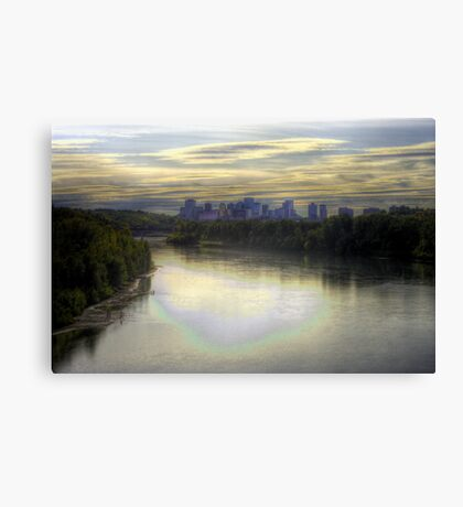 Edmonton in Fall (HDR) Canvas Print