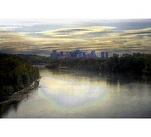 Edmonton in Fall (HDR) Photographic Print
