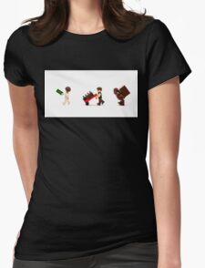 Coruscant Shopping Trip Womens Fitted T-Shirt