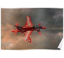 Red Arrows - Opposition Pass Poster