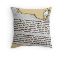 Avenged Throw Pillow