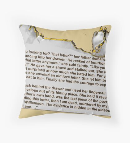 Avenged Throw Pillow