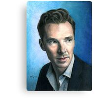 Benedict Cumberbatch. Canvas Print