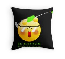 The Re-Animator - reanimated, fresh, crispy & Puffy Throw Pillow
