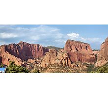 Kolob Canyons in Zion National Park Photographic Print