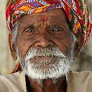 Colourful Turban by David Reid