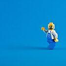 A Blue Hello by William Rottenburg