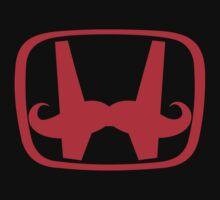 Honda 'Stache car sticker, t shirt, jdm, slammed, static T-Shirt