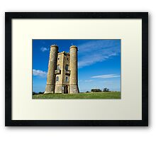 Broadway Tower in the Cotswolds Framed Print