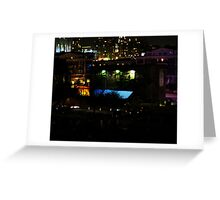 Night Color (Federal Hill) Greeting Card