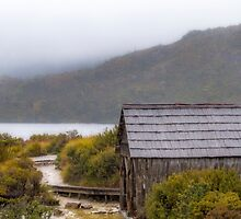Dove Lake Boat Shed, Tasmania #2 by Elaine Teague