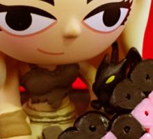 Mini Daenerys Valentine Sticker