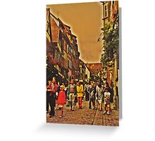 Alsace Village Greeting Card