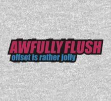 Awefully flush - static, slammed, jdm, car sticker T-Shirt