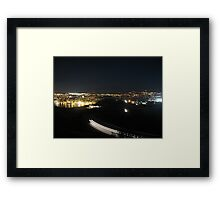 Lighting the Way Home Framed Print