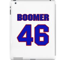 National football player Boomer Grigsby jersey 46 iPad Case/Skin
