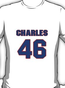 National football player Charles Johnson jersey 46 T-Shirt
