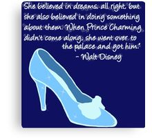 Cinderella Got Her Prince  Canvas Print