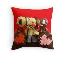 Zombie Valentines Throw Pillow