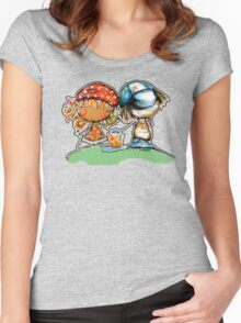Jack and Jill TShirt Women's Fitted Scoop T-Shirt