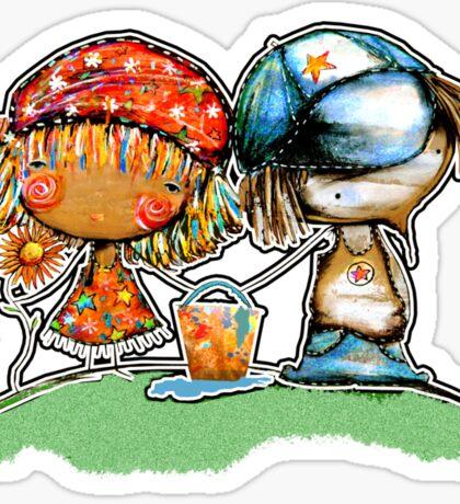 Jack and Jill TShirt Sticker