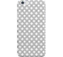 floral pentagons iPhone Case/Skin
