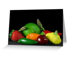 Fruit & Veg Greeting Card