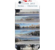 Winter in Drenthe iPhone Case/Skin