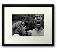 ~SCREAM~ Framed Print