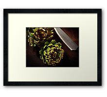 Fresh From The Garden Framed Print
