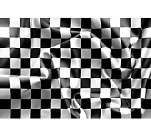 Chequered Flag Photographic Print
