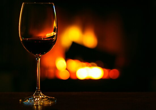 Wine &amp; Fire by Raphaela  Sampaio