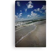 Blue Mountain Beach Canvas Print
