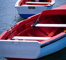 Two boats for fishing by Ralph Goldsmith