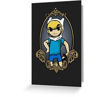 Legend Of Zelda - Zelda Time Greeting Card