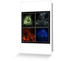 Elemental IV Greeting Card