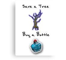 Save a Tree, Buy a Bottle - Print - DOTA2 Canvas Print