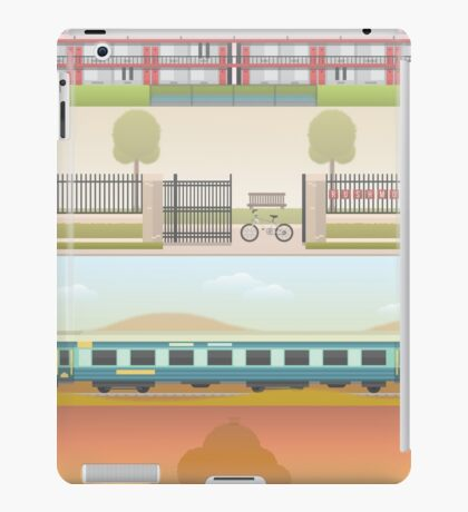 A 'Wes Anderson' Collection Poster Print 2 iPad Case/Skin