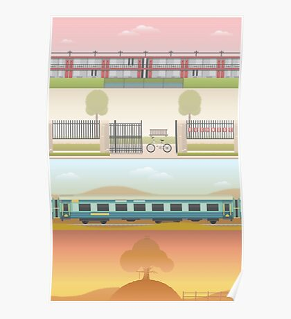 A 'Wes Anderson' Collection Poster Print 2 Poster