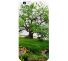 Bag end on Bagshot row, Hobbiton. iPhone Case/Skin